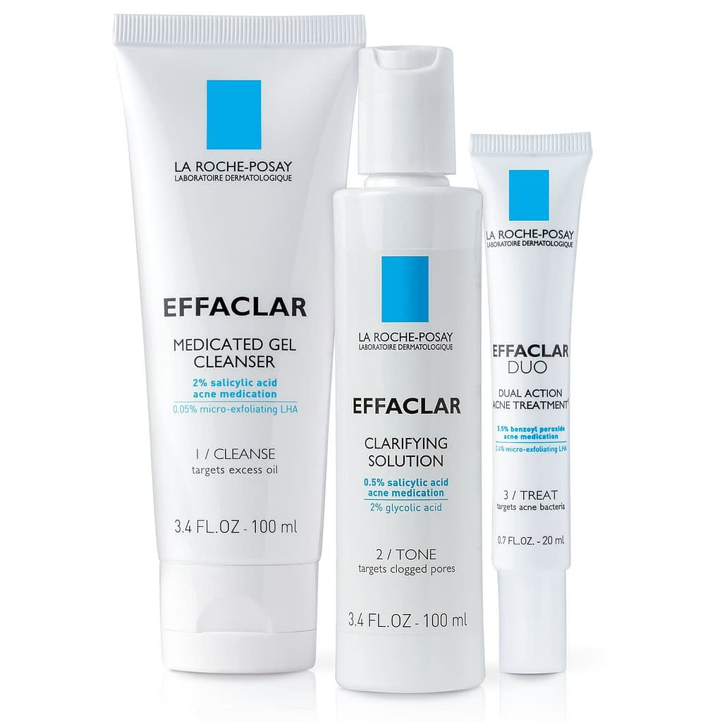 La Roche-PosayEffaclar Dermatological Acne Treatment System