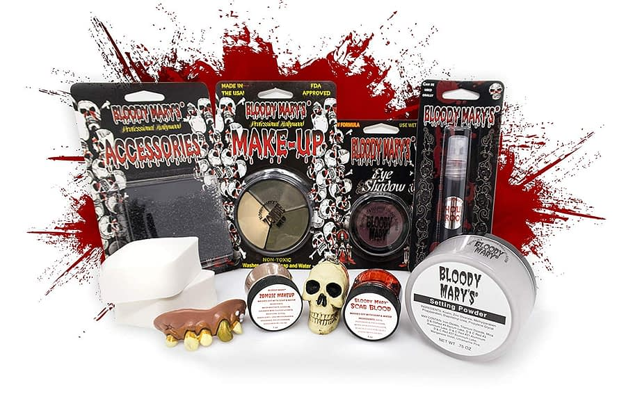 Create The Zombie With The Coffin Kit - Christmas Makeup Set Collection