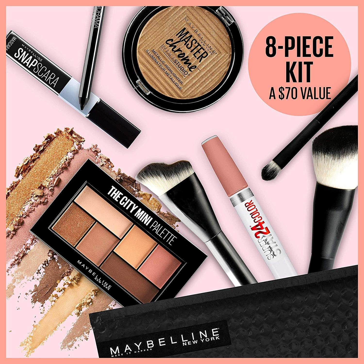 Maybelline Glow-Getter Makeup Kit - Christmas Makeup Set Collection
