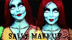sally makeup nightmare before christmas