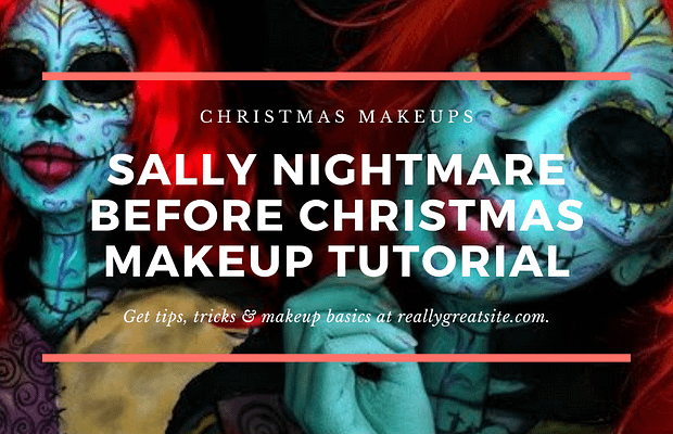 Sally Nightmare Before Christmas Makeup Tutorial Christmas Makeups