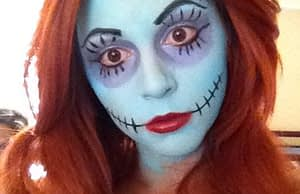 nightmare before christmas makeup
