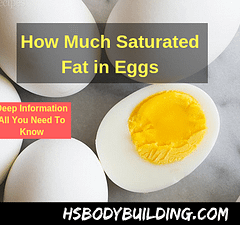 How Much Saturated Fat in Eggs
