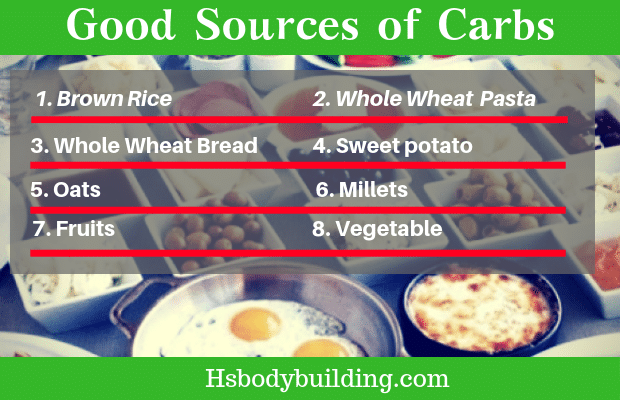 Good Sources of Carbs
