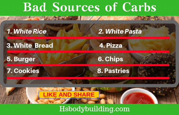 Bad Sources of Carbs